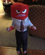 Anger from Inside Out Costume