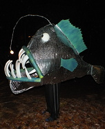 Angler Fish Homemade Costume