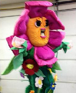 Angry Flower Homemade Costume