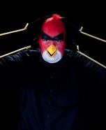 Angry Bird Homemade Costume
