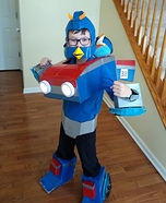 Angry Birds Transformer Smokescreen Homemade Costume
