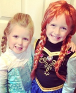 Anna and Elsa Costumes