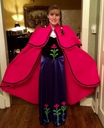 Anna from Frozen Costume DIY