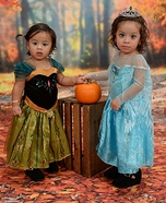 Anna & Elsa Costume