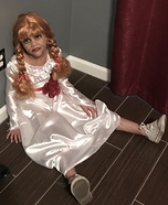 Annabelle Homemade Costume