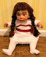 DIY baby costume ideas: Annabelle Doll Costume