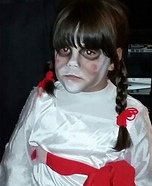 Annabelle Doll Homemade Costume
