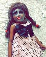 Annabelle Doll Costume for Girls