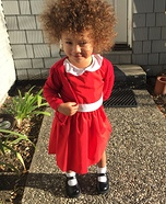 Annie Toddler Halloween Costume