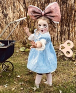 Antique Wind Up Doll Homemade Costume