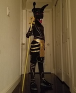 Anubis Homemade Costume