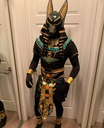 Anubis Homemade Costume
