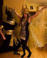 Coolest couples Halloween costumes - Anubus & Isis Couples Costume