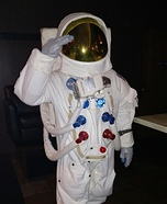 Apollo 11 Suit Homemade Costume