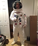 Apollo 13 Astronaut Homemade Costume
