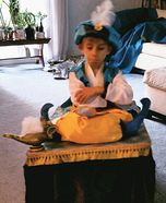 Arabian Prince on Flying Carpet Homemade Costume