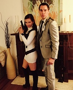 Archer and Lana Homemade Costume