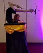 Archery Contortionist Homemade Costume