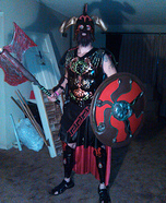 Ares God of War Homemade Costume