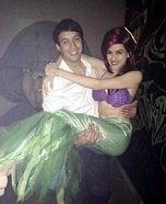 Ariel and Eric Homemade Costume