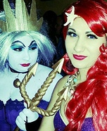 Ariel and Ursula Costume Idea