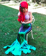 Ariel from the Little Mermaid Homemade Costume