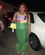 Ariel Little Mermaid Homemade Costume
