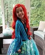Ariel, The Little Mermaid Homemade Costume