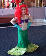 Ariel the Mermaid Homemade Costume
