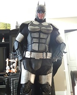 Arkham Origins Batman Homemade Costume