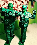 Army Guy & Girl Homemade Costume