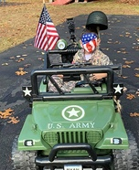 Army Soldier Homemade Costume