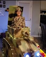 Army Tank Homemade Costume