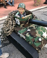 Army Tank Costume DIY