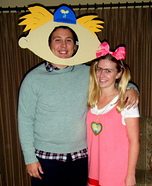 Arnold and Helga G. Pataki Homemade Costume