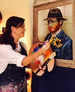 Coolest couples Halloween costumes - Artist painting Van Gogh Costume