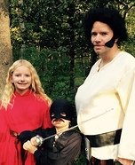 As You Wish Family Homemade Costume