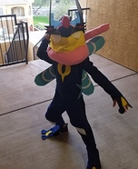 Ash Greninja Pokemon Homemade Costume