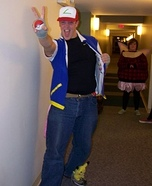 Ash Ketchum Homemade Costume