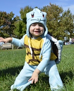 Ash Ketchum & Squirtle Homemade Costume