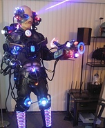 Assimilated Cyborg Homemade Costume