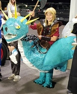 Astrid and Stormfly Homemade Costume