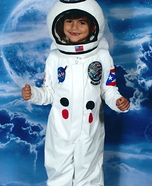 Homemade Astronaut Costume for Boys