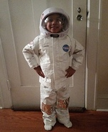 Astronaut Homemade Costume