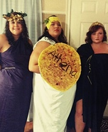 Athena, Aphrodite and Hera Homemade Costume