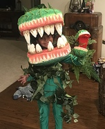 Audrey 2 Little Shop of Horrors Homemade Costume