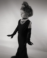 Audrey Hepburn Homemade Costume