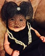 Cute baby costume ideas: Audrey Hepburn Baby Homemade Costume