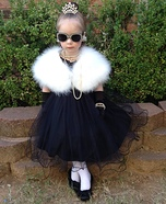 Audrey Hepburn Girl's Halloween Costume Idea