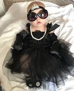 Audrey Hepburn Baby Homemade Costume